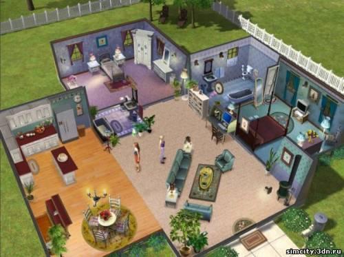 Дома в игре симс схемы