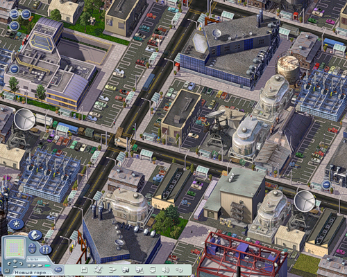 how to build and industry city simcity